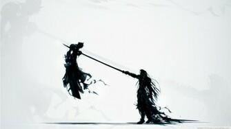 Final Fantasy Vii Katana Sephiroth Cloud Strife Artwork Swords 1366