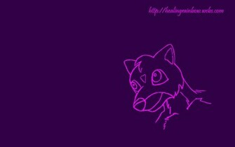 cute wallpapers purple creature background 1920x1200
