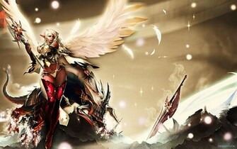 Games Wallpapers   Lineage 2 Dark Elf wallpaper