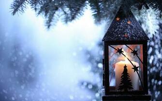 Christmas Candle HD Wallpaper