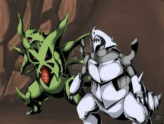 Mega Tyranitar X Aggron by WolveForger