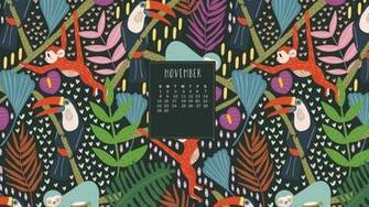 November 2020 Desktop Wallpaper Calendar Calendar wallpaper