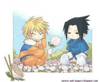 Naruto And Bleach Anime Wallpapers Cute Team Kakashi Chibi Naruto Pix