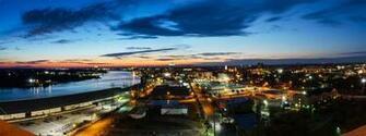 Savannah Ga Panorama by MarcAndrePhoto