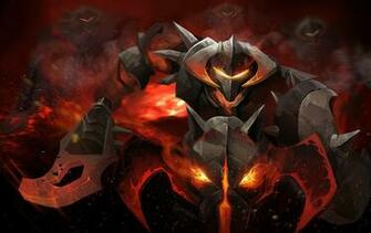 DOTA 2 Warriors Chaos Knight Armor Games Fantasy warrior demon