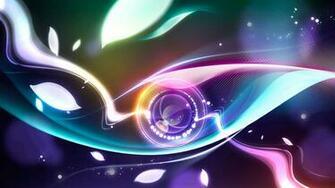 HD Wallpapers Widescreen 1080P 3D Digital Abstract Eye