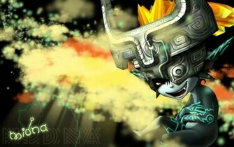 Twilight Princess Sneaky Midna   Nintendo Games Wallpaper Image