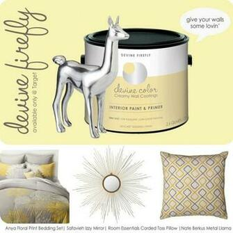 Devine It Yourself at Target   Devine Firefly yellow