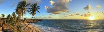 bay beach barbados caribbean caribbean sea desktop wallpaper