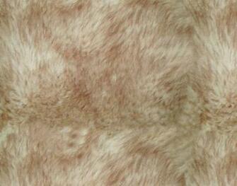 Black Faux Fur Seamless Background Texture Pattern