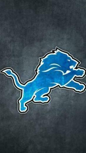 Detroit Lions Grungy Wallpaper for iPhone 5