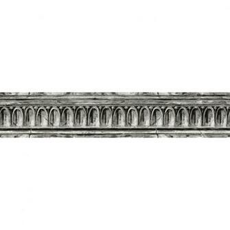 Black And Grey Crown Molding Prepasted Wallpaper Border at Lowescom