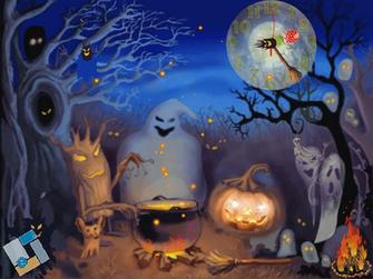 Halloween Live Animated Wallpaper Screensaver image   Screensaver