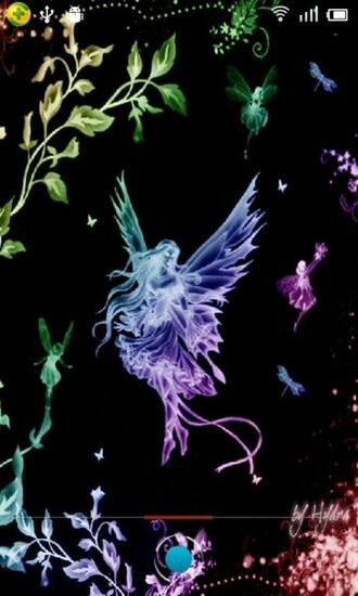 Magic Effect Fairies Neon Live Wallpaper android live wallpaper