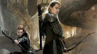 Lord of the Rings The Hobbit Orlando Bloom Legolas Evangeline Lilly