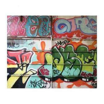 MD3067 Graffiti Removable Full Wall Wallpaper Mural Lowes Canada