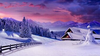 Winter Scenes Wallpapers Backgrounds