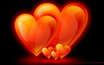 Fire Flame Hearts Family Screensavers Background wallpapers HD