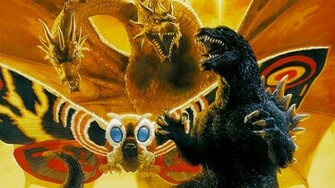 Godzilla images Godzilla Mothra and King Ghidorah Wallpaper wallpaper