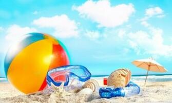 Summer season beach view hd wallpaper 1024x614 Summer Season Beach