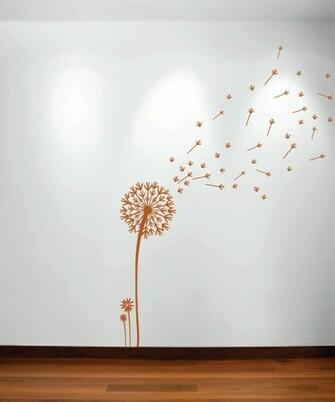 Blowing Dandelion Wallpaper Blowing Dandelion Wall
