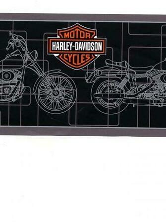 HARLEY DAVIDSON WALLPAPER BORDER   21B8   134B39963
