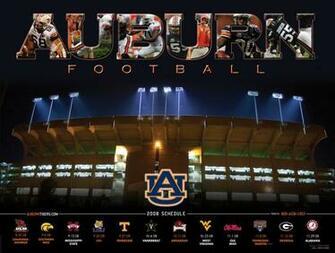 Auburn Tigers Football Schedule Dark Brown Hairs