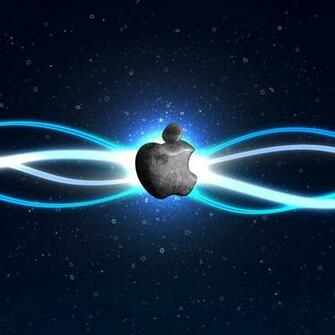 Glowing apple logo 4 Apple iPad iPad 2 iPad mini Wallpapers HD
