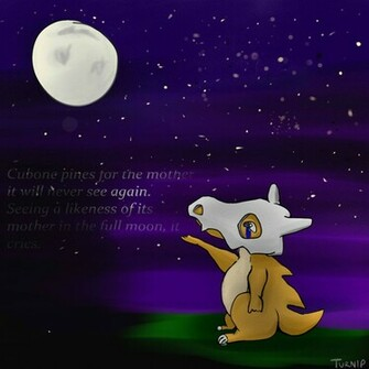 Cubone Wallpaper Purple Cubone