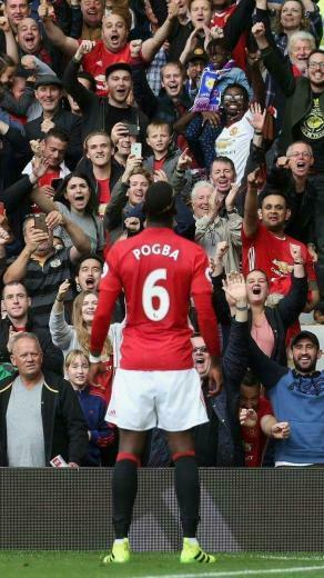 Pogba Manchester United footy Manch