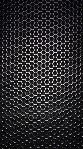 Speaker Grill Closeup Texture iPhone 5 Wallpaper carbon texture