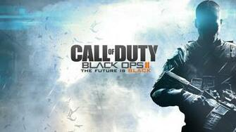 Duty Black Ops II Future is Black Full HD Desktop Wallpapers 1080p