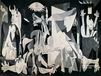 Guernica Wallpaper Guernica Poster Guernica c1937 Pablo Picasso
