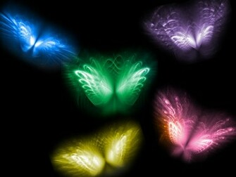 Cool Neon Butterfly Backgrounds HD wallpaper background