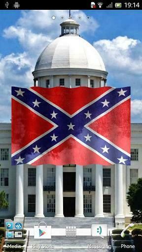 View bigger   Confederate Flag 3D Wallpaper for Android screenshot