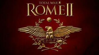 Total War Rome 2 Logo Wallpaper Wallpaper