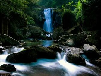 waterfall wallpaper waterfalls nature wallpaper 1600 1200 1402jpg