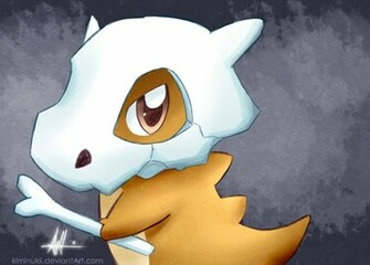 Cubone Pokemon Wallpaper Cubone by kiminukii