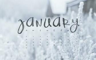 Hello January Downloadable Calendar Freebie   To Live