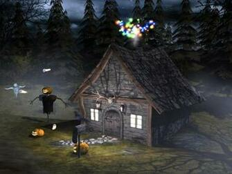 3D Spooky Halloween are you brave enough to trick or treat around