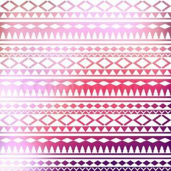Colorful Geometric Tribal Nails Wallpaper Pictures
