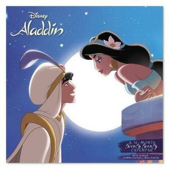 Amazoncom 2020 Disney Aladdin Wall Calendar DDW2842820