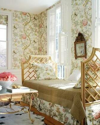 Home Brands Thibaut 125th Anniversary Thibaut Papagayo Cream