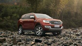 New 2019 Ford Endeavour Look Wallpapers Car Release Date
