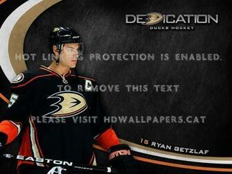 anaheim ducks ryan getzlaf wallpaper hockey