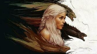 Game of Thrones Khaleesi Wallpaper   DigitalArtio
