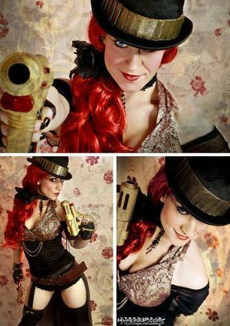 Steampunk Girl Wallpaper by HyperXP