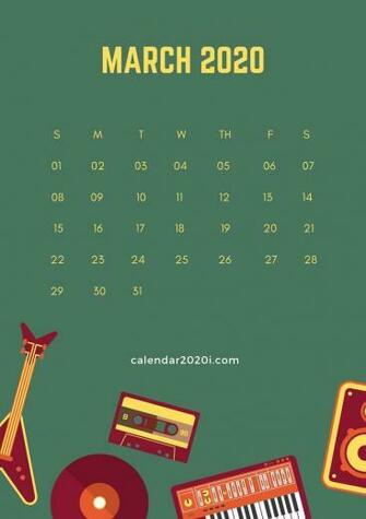 53] Calendar 2020 Wallpapers on WallpaperSafari
