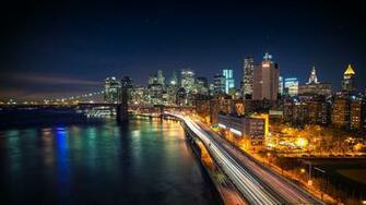City Night Wallpaper 4k Desktop Backgrounds