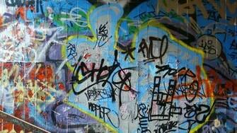 Abstract Graffiti Wallpaper 1366x768 Abstract Graffiti